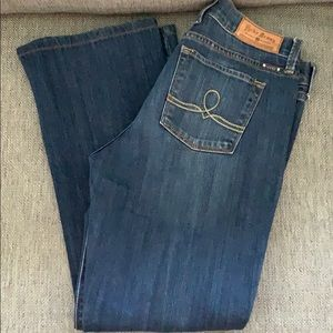 Women's lucky brand jeans size 10